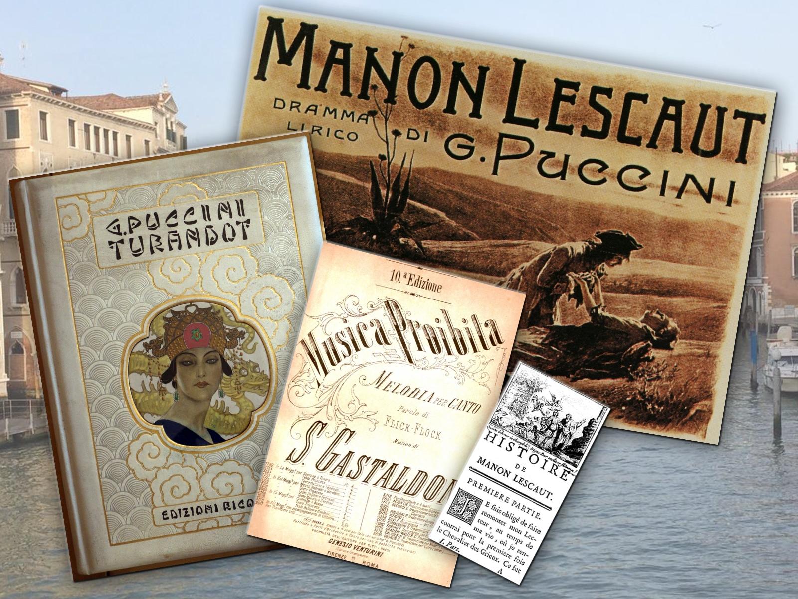 Italienischer Opernabend - Collage