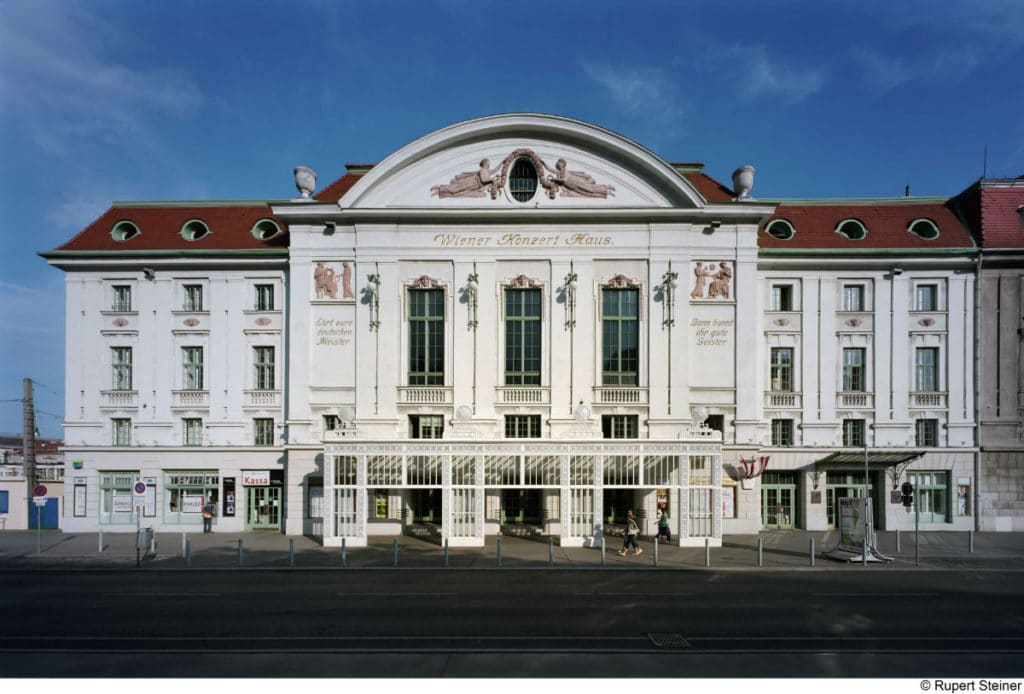 Wiener Konzerthaus - Log in/Register