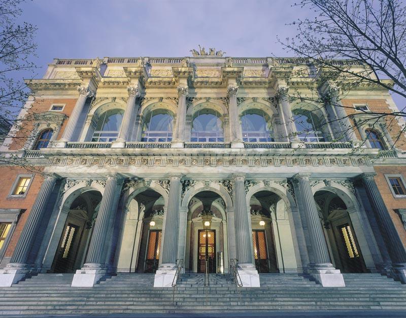 Wiener Börse von außen - klassische Konzerte in den Wiener Börsesälen